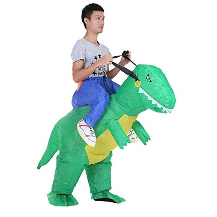 Inflatable Costume for Christmas Party, Walking Dinosaur (Price drop+25%voucher)