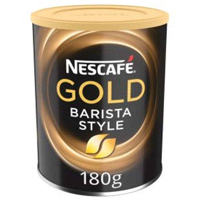 Nescaf Gold Barista Style 180g - Only £4!