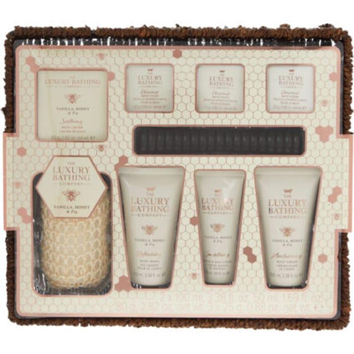 THE LUXURY BATHING COMPANY Vanilla, Honey & Fig Bath Gift Set