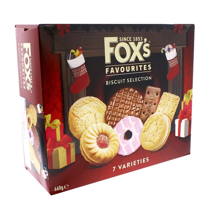 Fox's Favourites Biscuit Selection