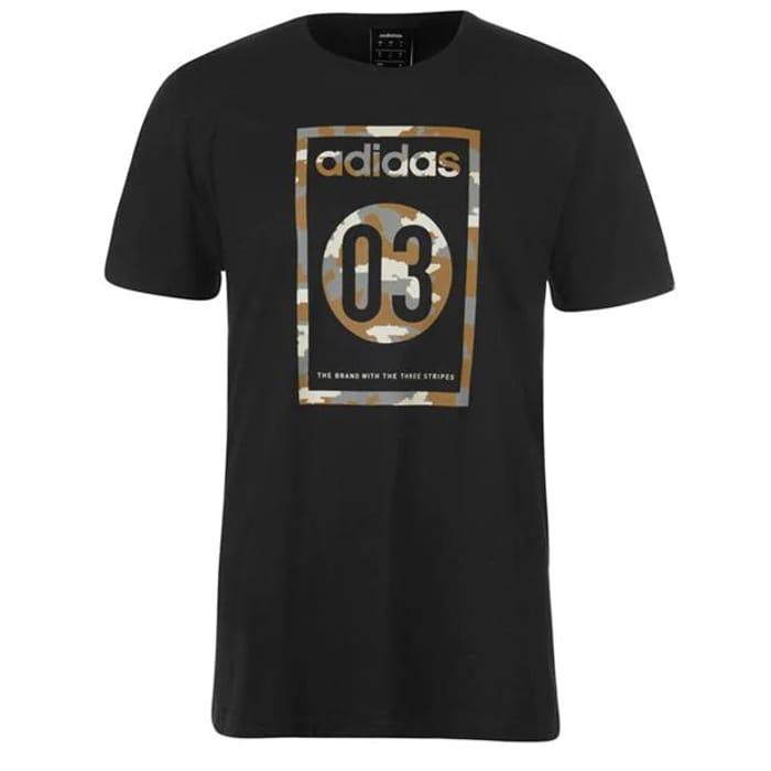 ADIDAS Camo Men's T-Shirt - Only £9.5!