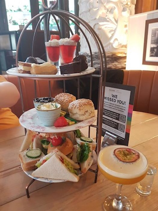 Afternoon Tea For 2 With Cocktail Each At Revolution Bars - £18.46 / £9.23pp