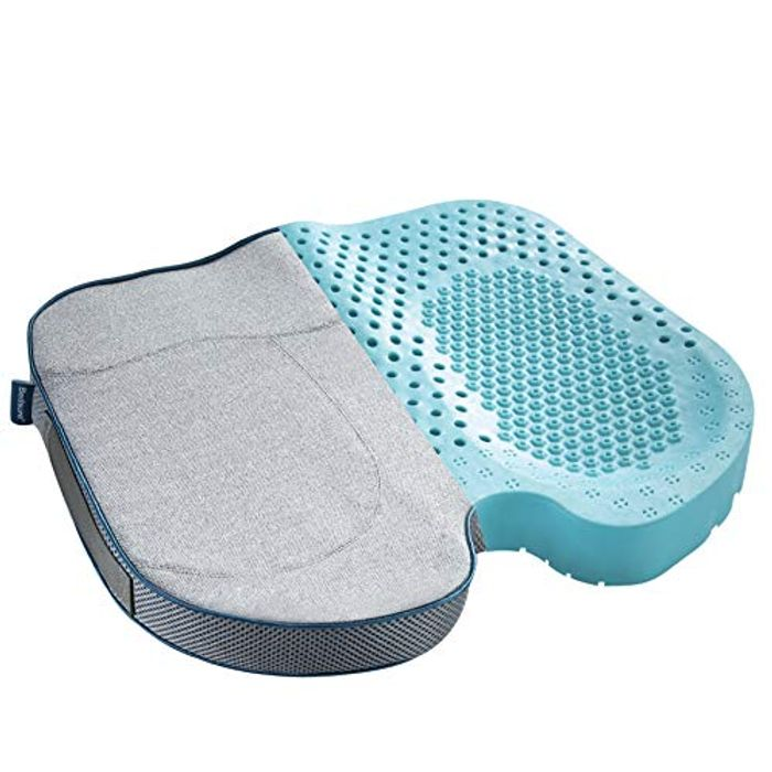Bedsure Breathable Orthopedic Seat Cushion - Only £11.99!