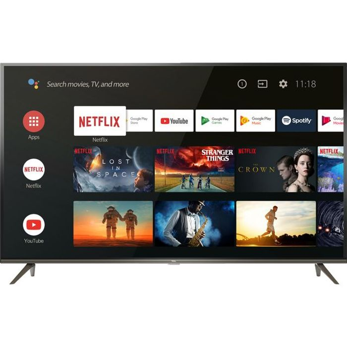 "*SAVE £110* TCL 65"" Smart 4K Ultra HD Android TV + Extra £10 off with Code"
