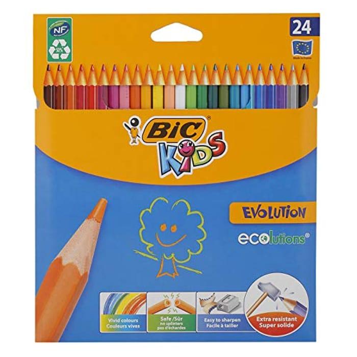 Bic Kids Colour Pencils 24 Pack