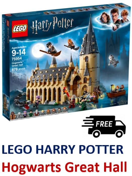 LEGO HARRY POTTER 75954 - Hogwarts Great Hall **4.9 STARS**
