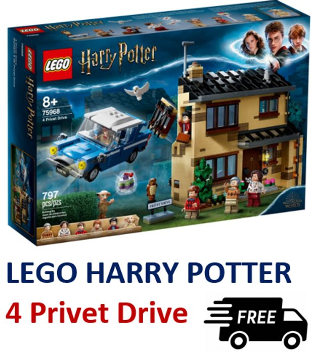 20% OFF & FREE DELIVERY - LEGO HARRY POTTER 4 Privet Drive *4.9 STARS* 75968