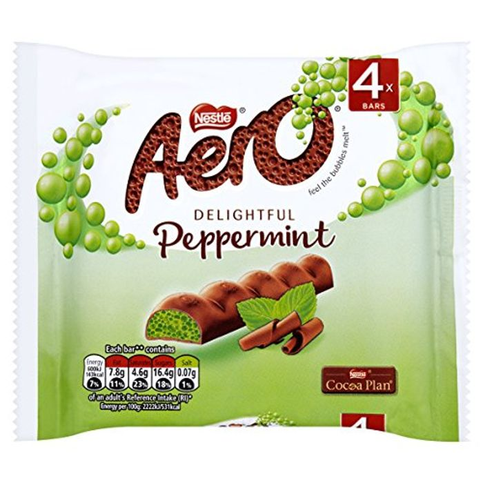 Aero Peppermint Mint Chocolate Multipack