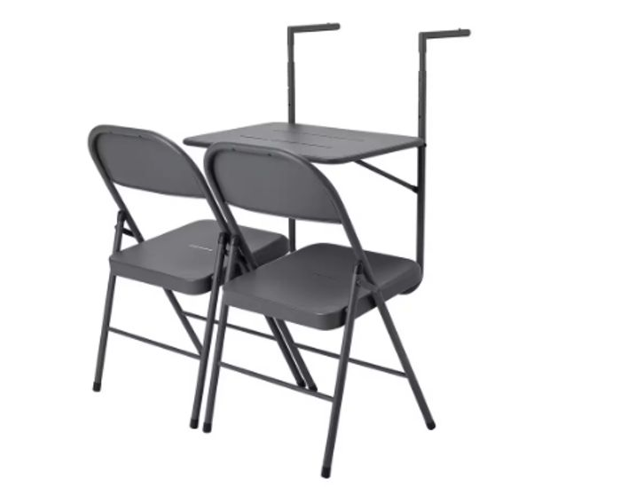 Argos Home Space Saving 2 Seater Balcony Bistro Set - Only £20!