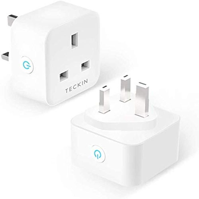 13A WiFi Socket Smart Plug Compatible with Alexa (2 Pack)