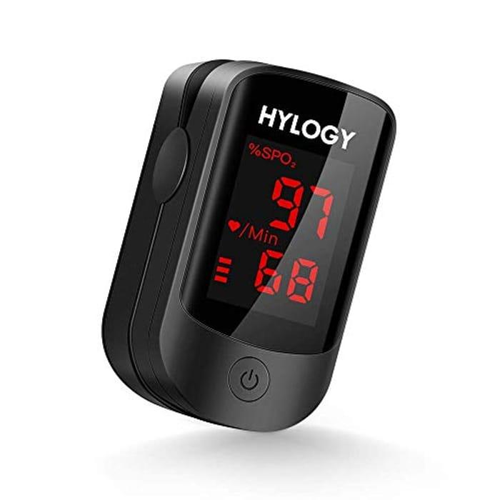Fingertip Pulse Oxygen Saturation Monitor W/ LED Display