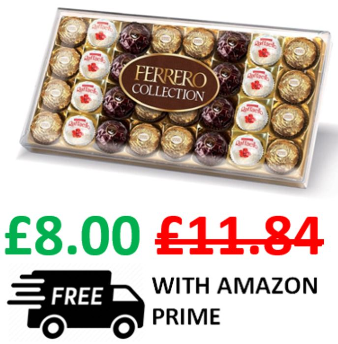 Ferrero Collection Chocolate Gift Set, Assorted Box of 32 Pieces