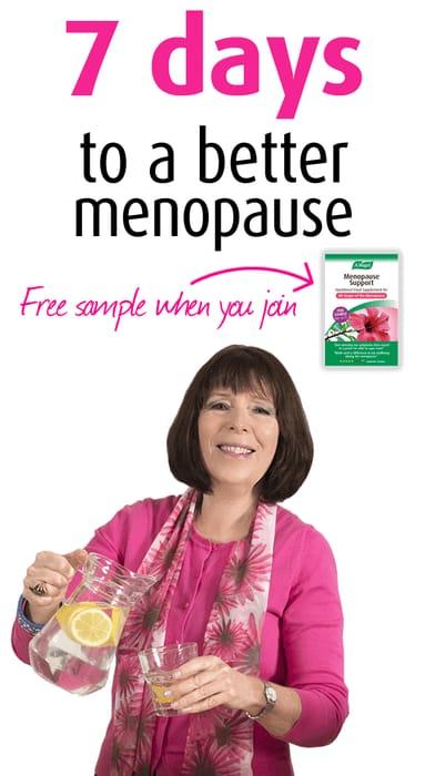 Free 7 Day Menopause Plan