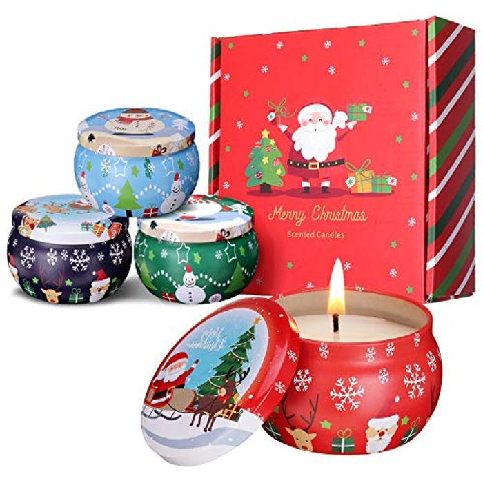 40% off Christmas Scented Candles Gift Set