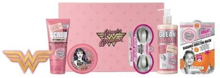 Soap & Glory Wonder Woman Glam-Azing Gift Set ! IN STOCK