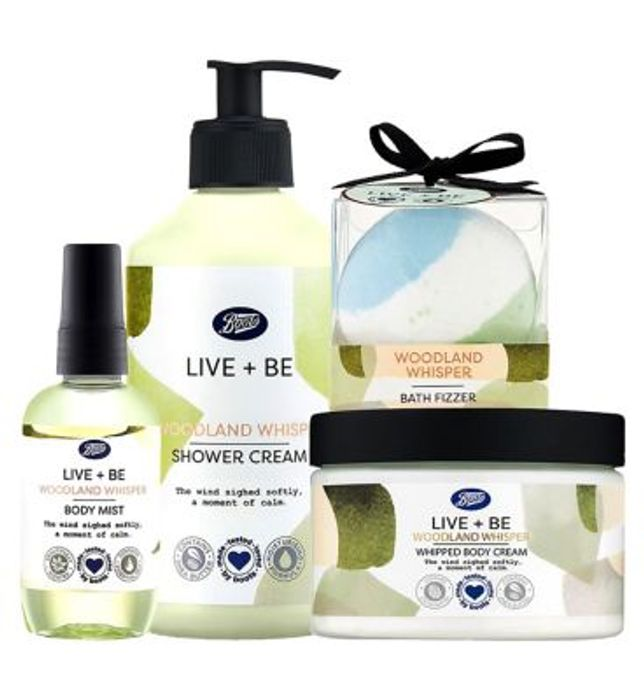 Back in Stock, Boots Live+Be Woodland Whisper Bundle