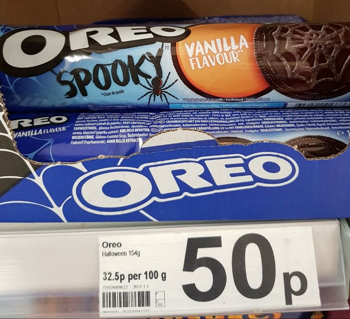 Oreo Halloween Biscuits Only 50p