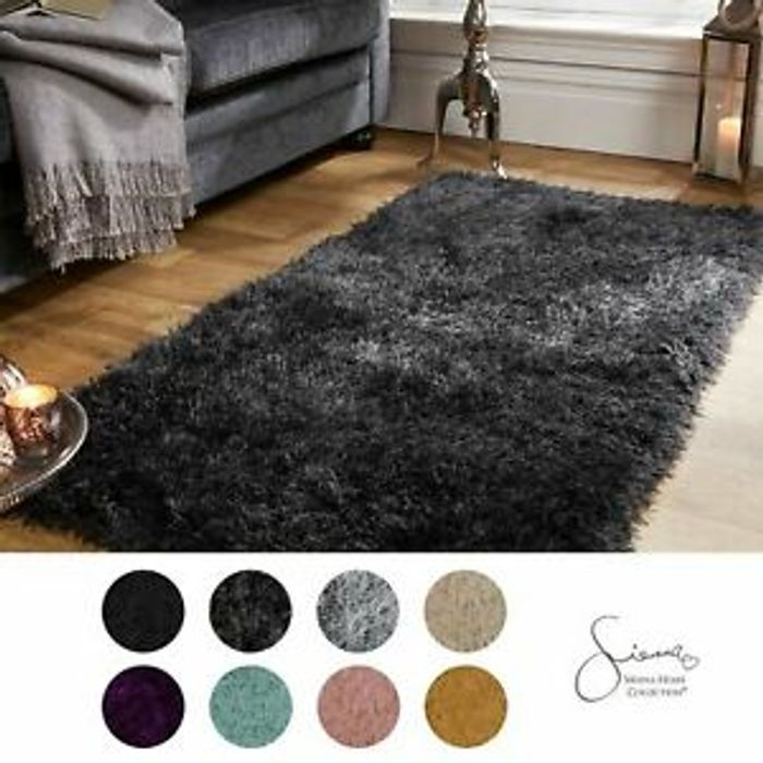 Sienna Large Shaggy Rug 5cm Thick from £16.99 Delivered (4 Colours)