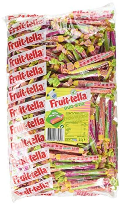 Fruittella Duo Stix Bulk Sweets Bag, 2 Kg