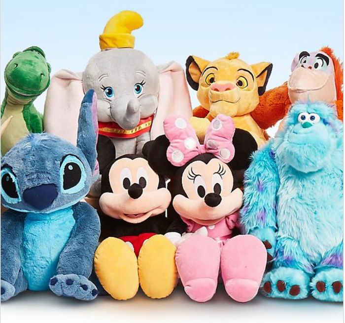 shopDisney - Half Price Large Soft Toys or 20% Off £50 Spend on Full Price Items