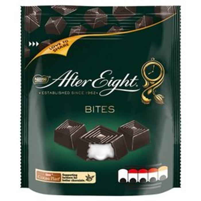 After Eight Dark Mint Chocolate Bitesize Sharing Pouch 107g