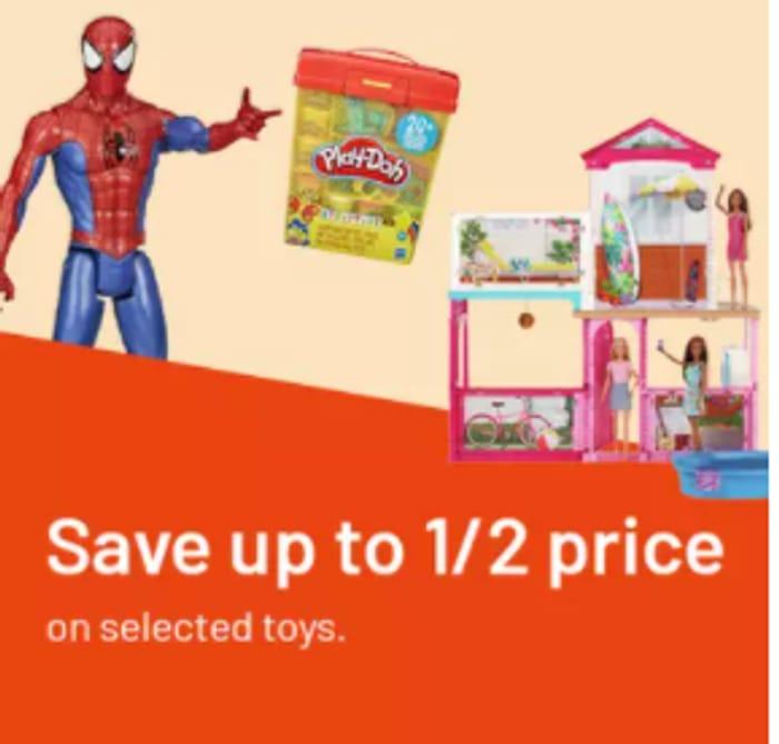 Argos - Half Price Toy Sale!