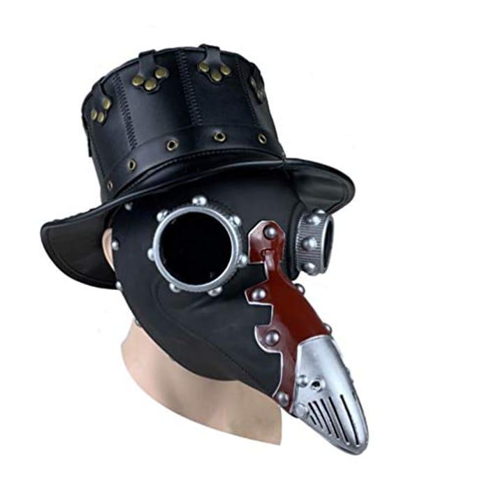 Steampunk Mask Long Nose Mask  (Promo & 20% Voucher)