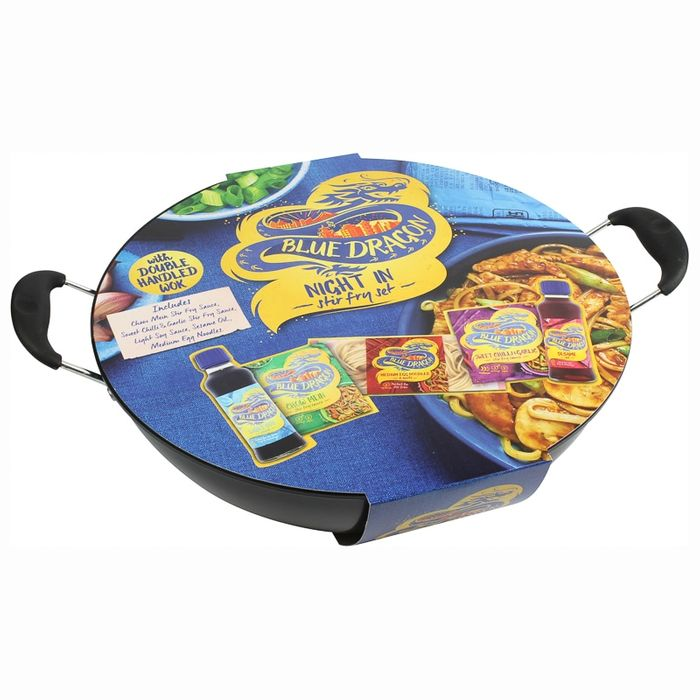 Blue Dragon Wok Set Great Half Price Deal