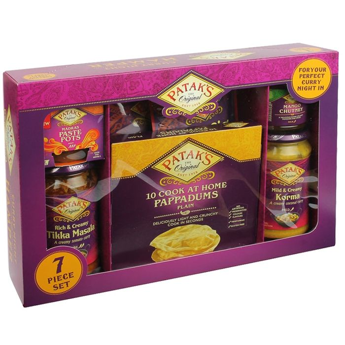 Pataks Cook at Home Pappadums Hamper