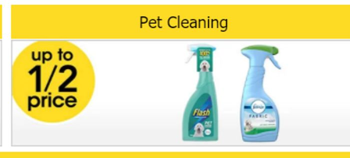 Up to 1/2 Price on Pet Cleaning