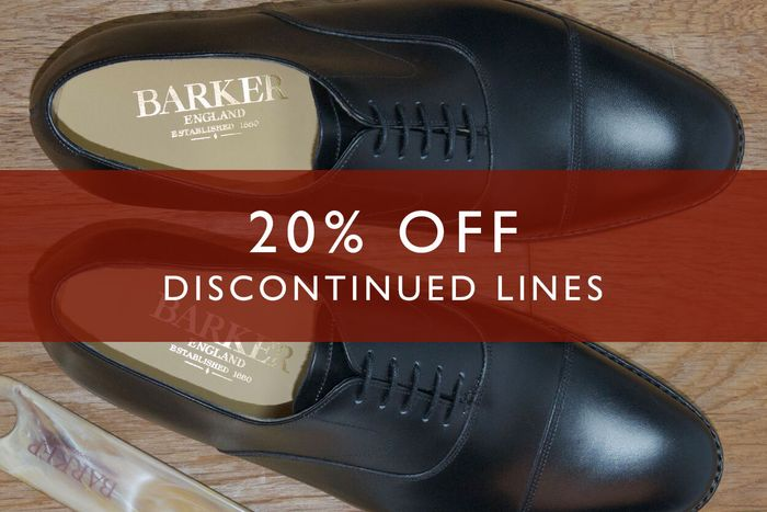 20% off Discontinued Lines at Herring Shoes