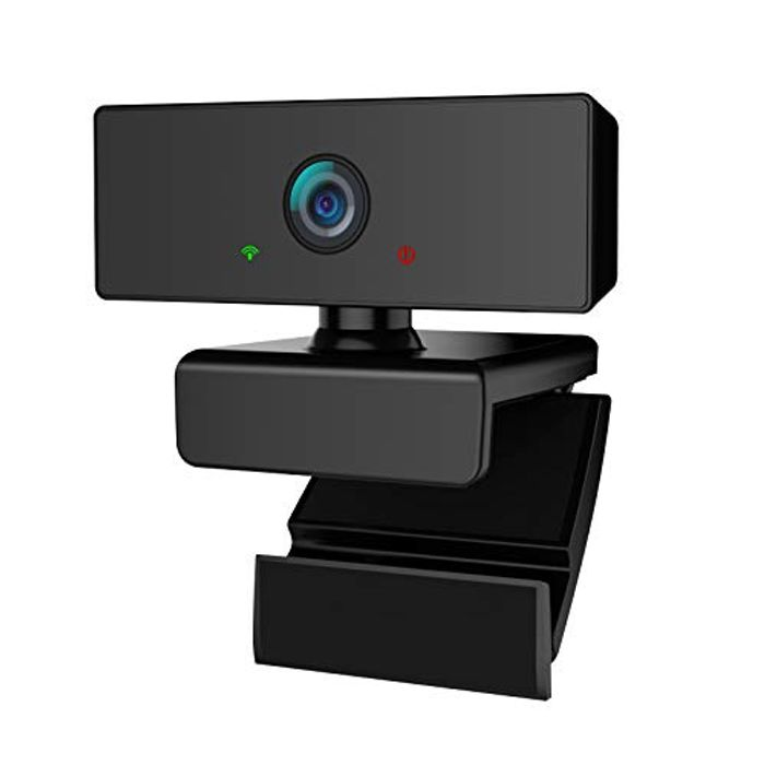 HD 1080P Streaming Webcam with Microphone