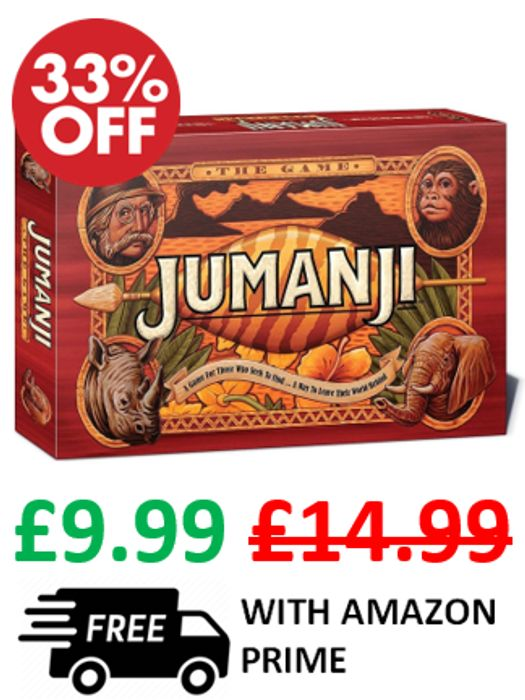 Jumanji Original Board Game - ONLY £9.99 - LIMITED STOCK!