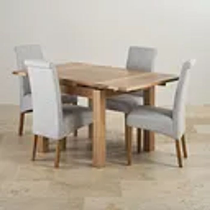 3ft Extending Dining Table with 4 Chairs