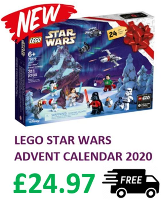 LEGO STAR WARS Advent Calendar 2020 - FREE DELIVERY (75279)
