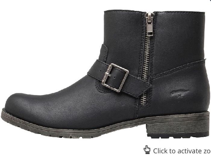 Rocket Womens Brittany Lewis Boots Black