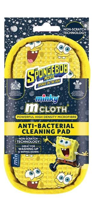 Minky Spongebob Anti-Bacterial Cleaning Pad