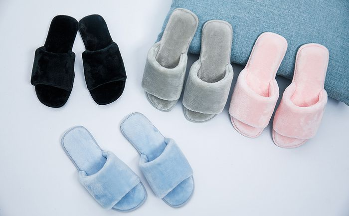 Memory Foam Fluffy Slippers Only £4.20 with Code