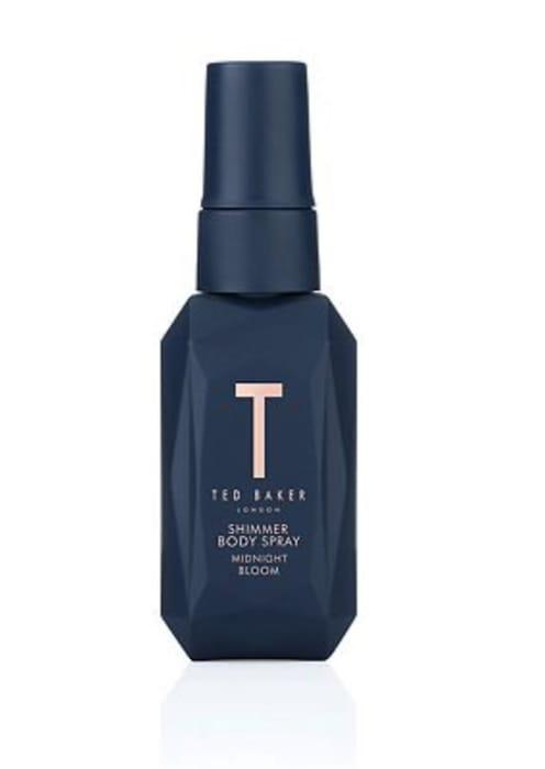Ted Baker Body Spray 50ml, Midnight Bloom Shimmer & Floral Bliss, 3 for 2