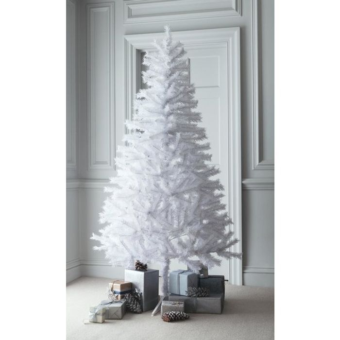 Argos Home 6ft Lapland Christmas Tree - White 55%off@ Argos