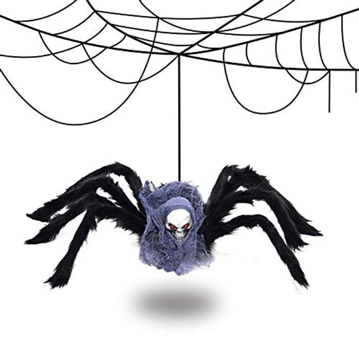 Deal Stack! Halloween Giant Spider