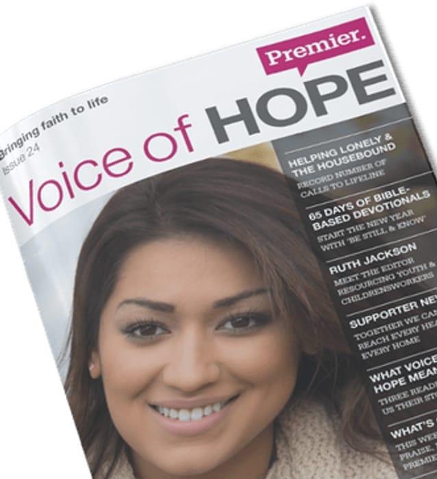 Free Copy of Voice of Hope Magazine