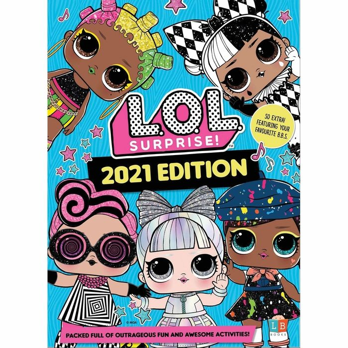 Cheap Lol Surprise Annual 2021 at Home Bargains - Only £2.99!
