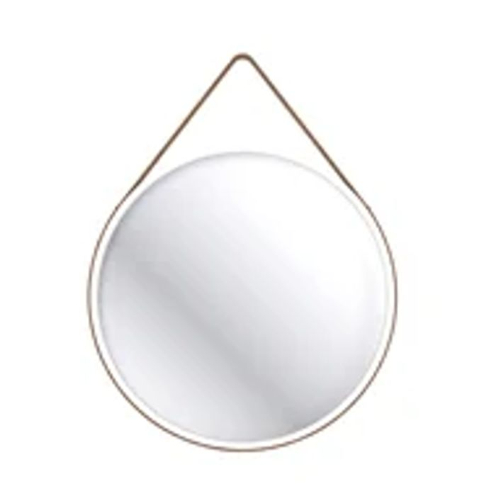 Home Design Home Design round 60cm Bathroom Mirror - White