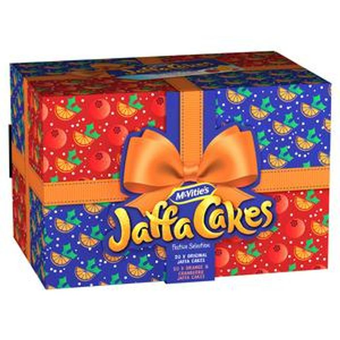 NEW! McVitie's Jaffa Cakes Festive Selection 488g