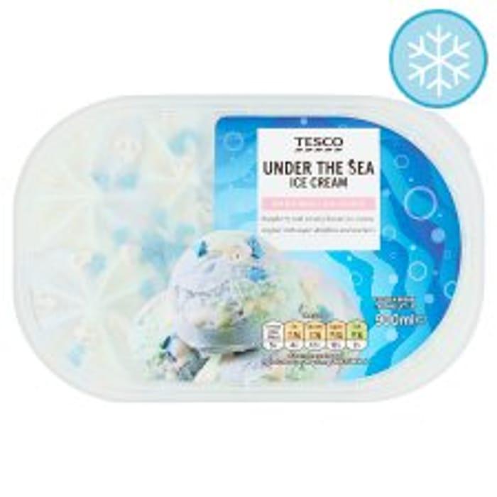 Tesco under the Sea Ice Cream 900Ml