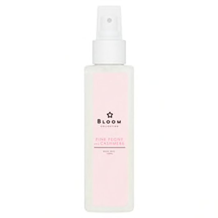 Superdrug Bloom Pink Peony and Cashmere Body Mist 150ml