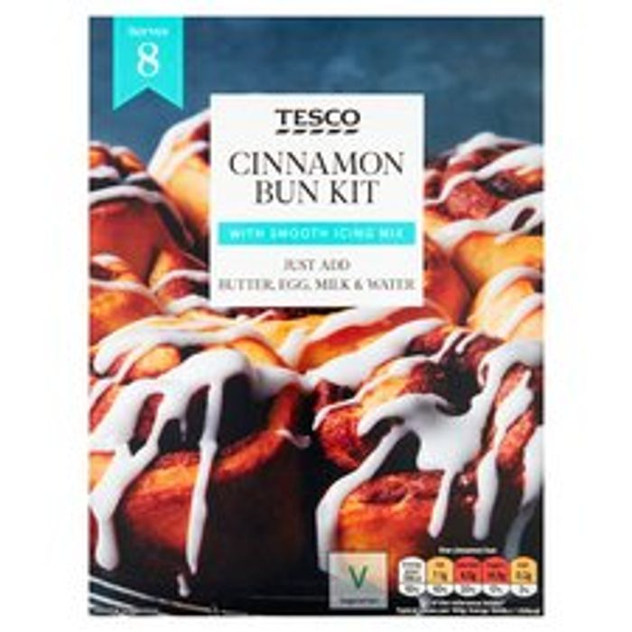 Tesco Cinnamon Bun Kit 335G