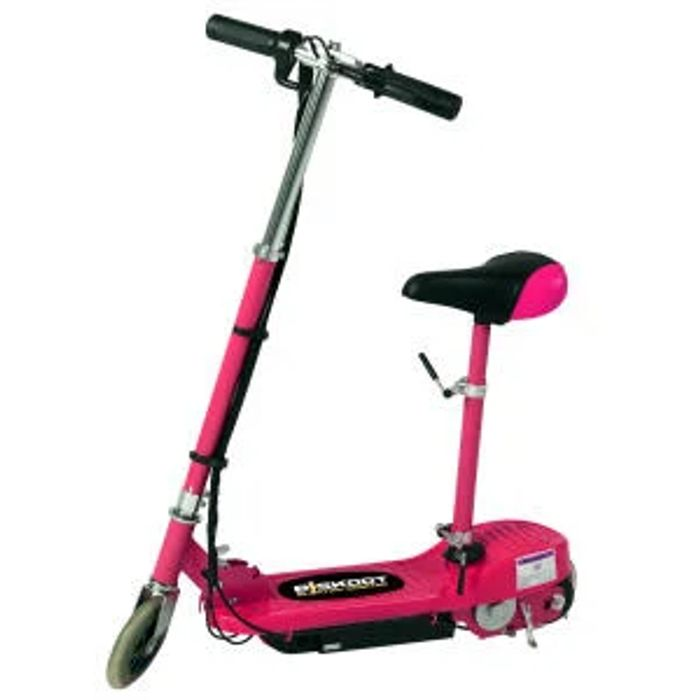 Kids Pink Electric Scooter with Seat CHOICE of COLOURS FREE DEL.