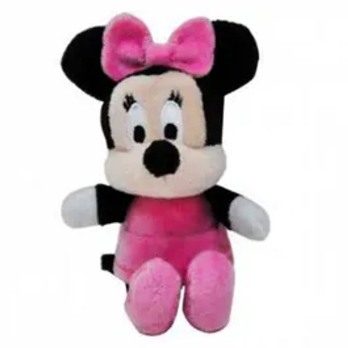 "2"" Disney Mini Plush - Minnie, Mickey Or Winnie the Pooh *Stocking Fillers"